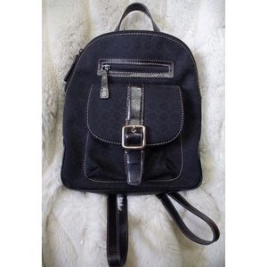 Nine West Bags - Nine West Buckle Logo Mini Backpack